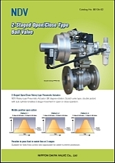 2-Staged Open/Close Type Ball Valve